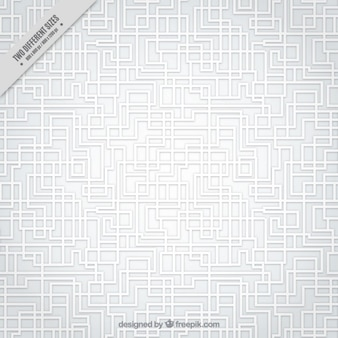 White labyrinth pattern