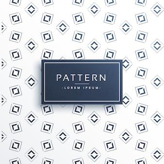 White pattern of geometric shapes