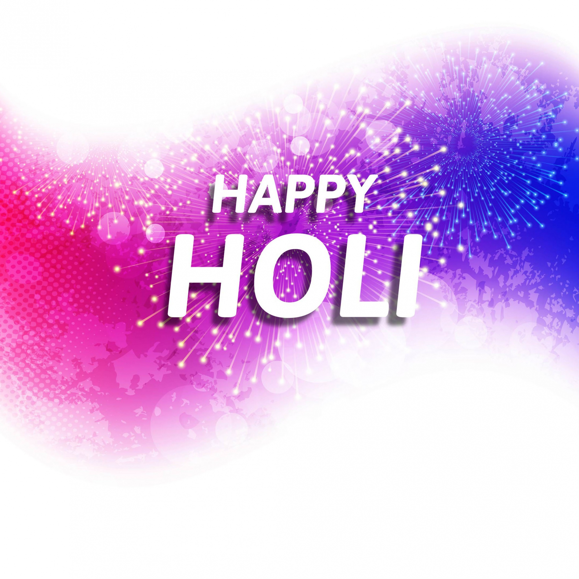 White, pink and purple background for holi festival