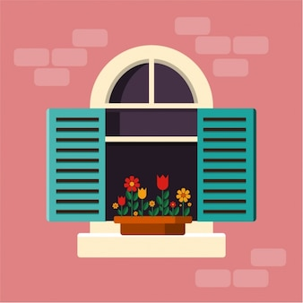 Window background design