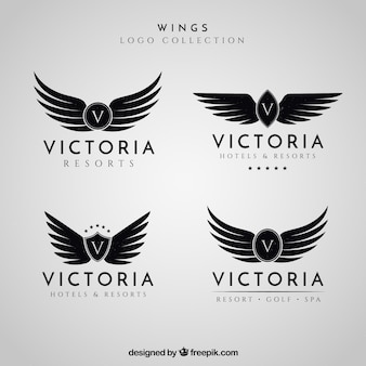 Wings logo collection