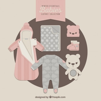 Winter clothes for babies
