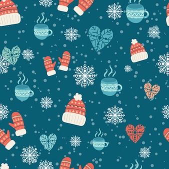 Winter pattern design