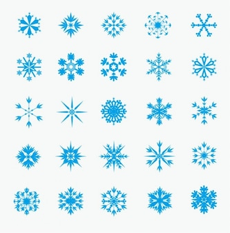 Winter Snowflakes Icons