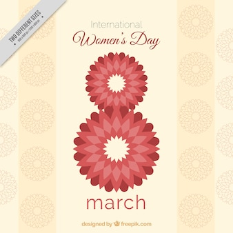 Woman day abstract eight of march  background