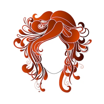 Woman hairstyle design