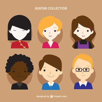 Women avatar collection