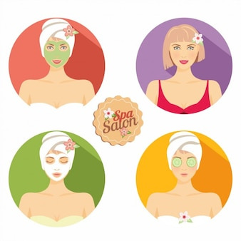 Women beauty skin care