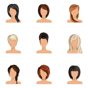 Women hairstyles collection