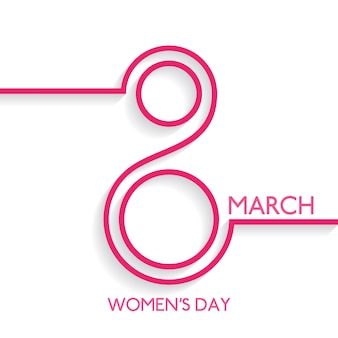 Women's day background design