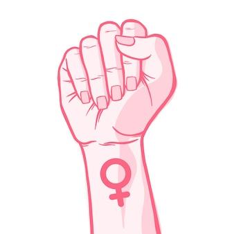 Women's day background design