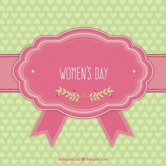 Women's Day cute greeting card