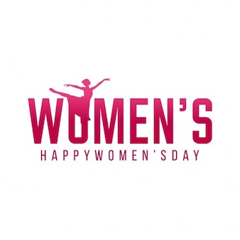 Women's day, simple background