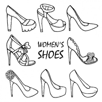 Women's shoes collection
