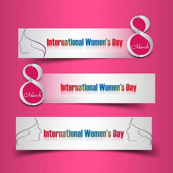 Womens day headers