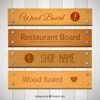 Wood boards pack