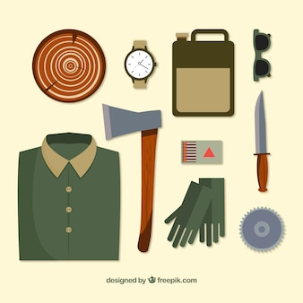 Woodcutter accessories
