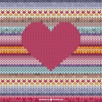 Woolen heart