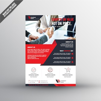 Working flyer template