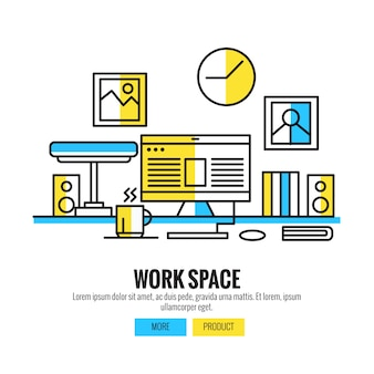 Working Space for Designers, Photographers and Typographers