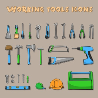 Working tool collection