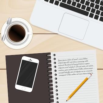 Workspace background design