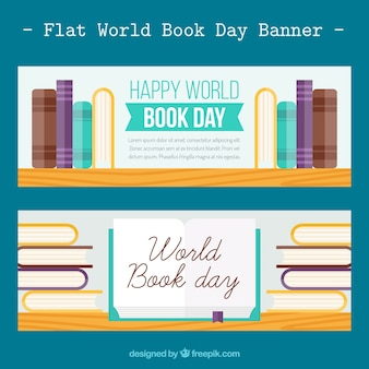 World book day banners