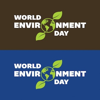 World environment day banners