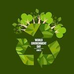 World environment day concept Vector illustration
