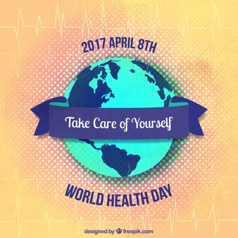 World health day background