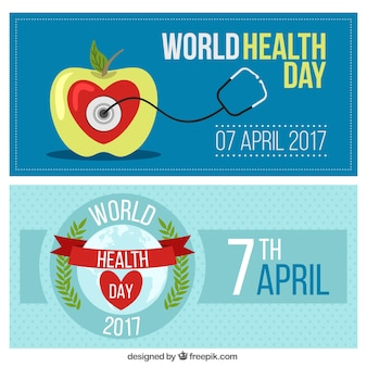 World health day banners