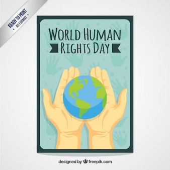 World Human Rights Day Card