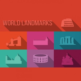 World landmarks collection