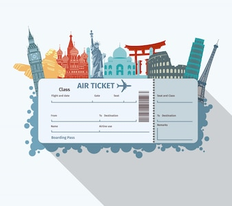 World landmarks ticket