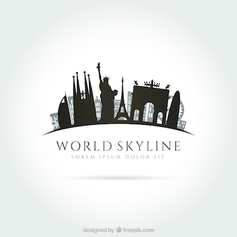 World skyline