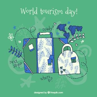 World tourism day, luggage