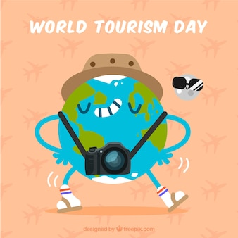 World tourism day, planet earth travel