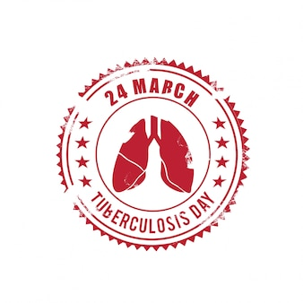 World tuberculosis day, red seal