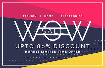 Wow sale and discount voucher