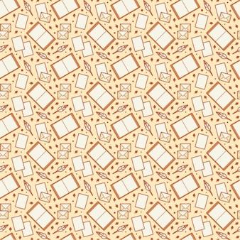 Writing pattern design