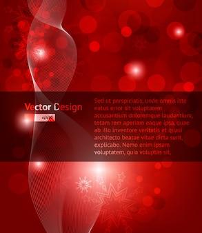 Xmas new concept artwork red