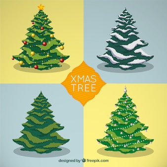 Xmas trees collection