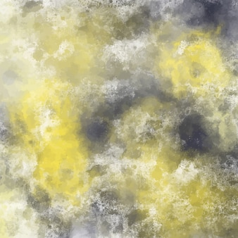 Yellow and black watercolor background design