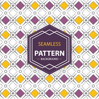 Yellow and purple geometric pattern