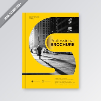 Yellow business cover