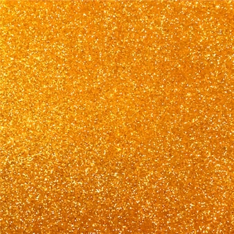 Yellow golden glitter background