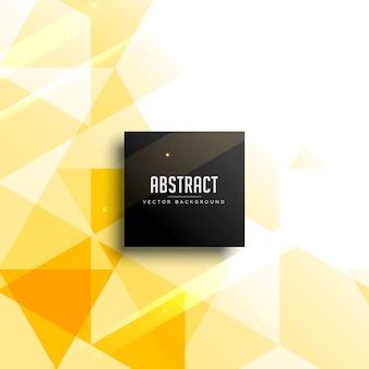 黄色の抽象的な背景デザインベクトル