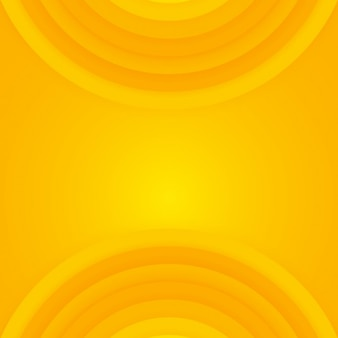 Yellow with circles shapes background