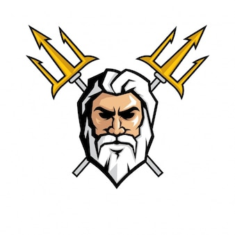 Zeus face design
