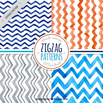 Zig-zag pattern collection